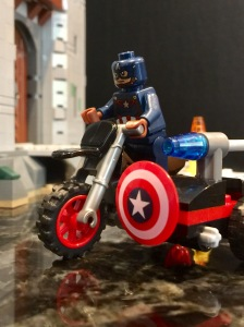 CA on Motorcycle